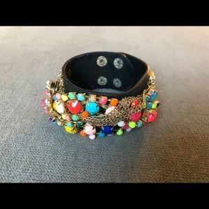 J. Crew Multicolored Cuff Bracelet